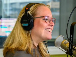 Brandi Parisi on the air