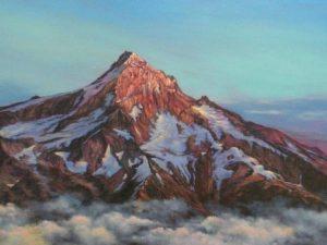 Painting of Mt Hood