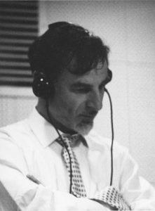 Image of Harry Rabinowitz in the recording studio.