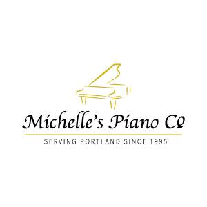 Michelle's Piano Logo