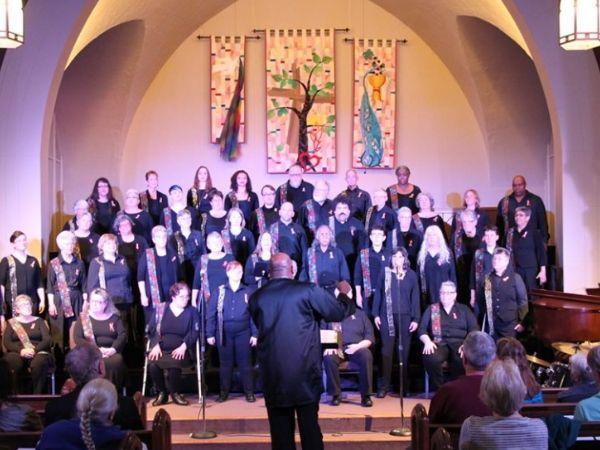 Confluence LGBTQ choir in concert