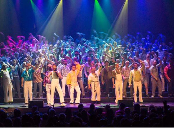 Portland Gay Mens Chorus concert photo from their Facebook