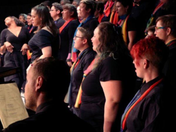 Portland Lesbian Choir Concert photo taken from their website