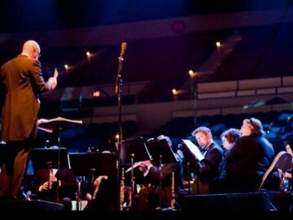 Rose City Pride Bands Wind Symphony with Conductor