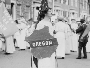 Image from OHS exhibit on women voters