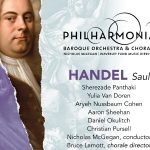 photo of album cover handel