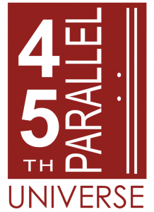 45th Parallel Universe logo