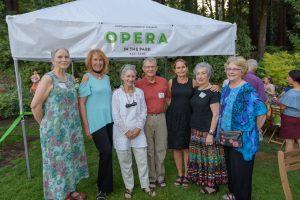Opera in the Park volunteers
