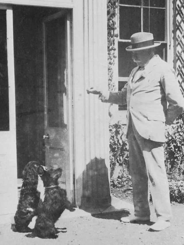 Edward Elgar and dogs
