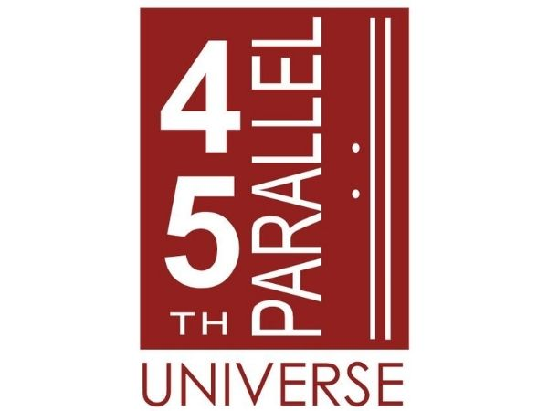 45th Parallel Universe logo courtesy of the 45th Parallel website