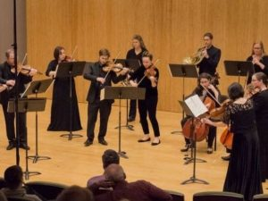 Amadeus Chamber Orchestra performance courtesy of Facebook