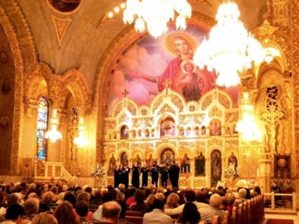 Cappella Romana performance at St. Sophia Cathedral courtesy of Facebook
