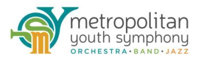 Metropolitan Youth Symphony logo courtesy of their website