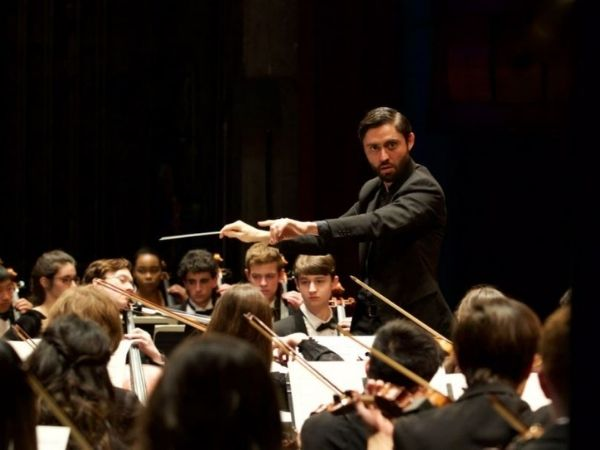 Metropolitan Youth Symphony performance photo courtesy of Facebook