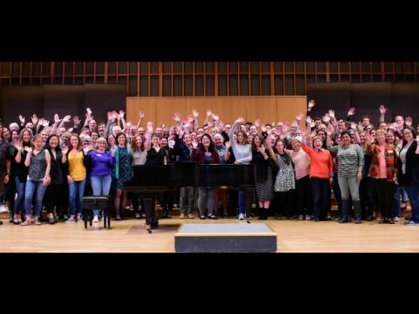 Oregon Repertory Singers group photo courtesy of Facebook