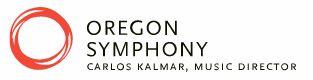 Oregon Symphony logo courtesy of their website