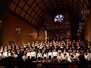 Pacific Youth Choir performance photo courtesy of Facebook
