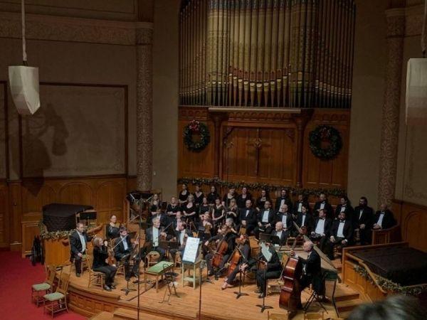 Portland Baroque Orchestra performance photo courtesy of Facebook