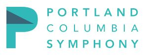 Portland Columbia Symphony logo courtesy of their website