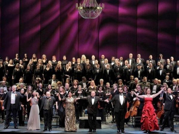 Portland Opera end of performance photo courtesy of Facebook