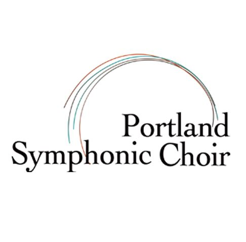 Portland Symphonic Choir logo courtesy of Facebook