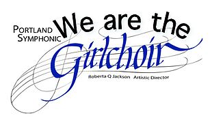 Portland Symphonic Girlchoir logo courtesy of their website