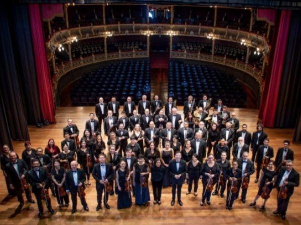 An overhead picture of the Orquesta Sinfónica Nacional de Costa Rica courtesy of Facebook