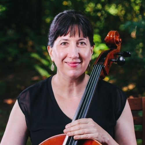 Cellist Nancy Ives