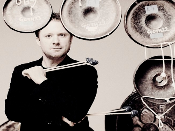 photo of percussionist