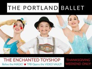 The Portland Ballet Video Vault