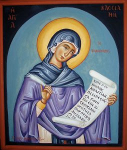 Icon of Kassiani