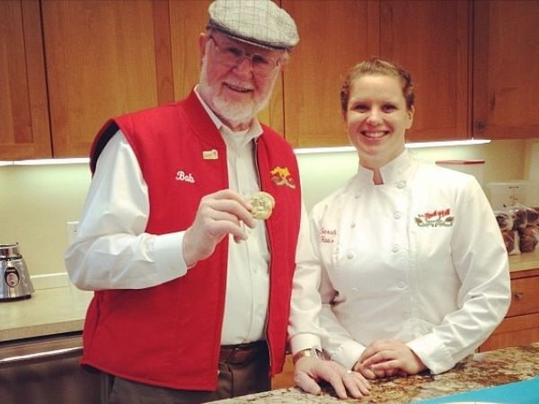 Bob Moore and Alicia House of Bob's Red Mill