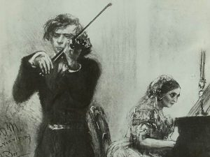 Clara Schumann and Joseph Joachim