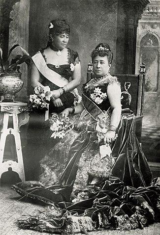 Lili'uokalani and Queen Kapiʻolani