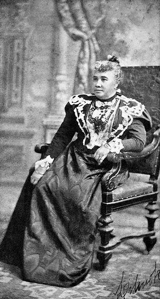 Lili'uokalani in Boston, 1897