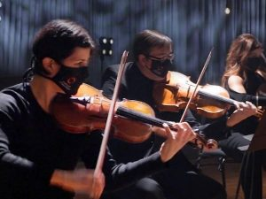 Carlos at 18 violinists