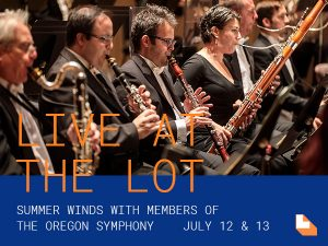 The lot at Zidell yards July concert