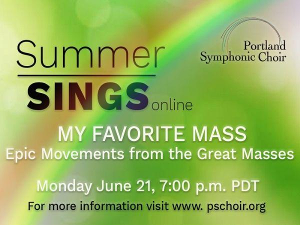 PSC Summer Sings Concert