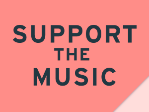 """text: """"support the music"""""""