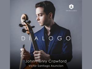 man holding a cello