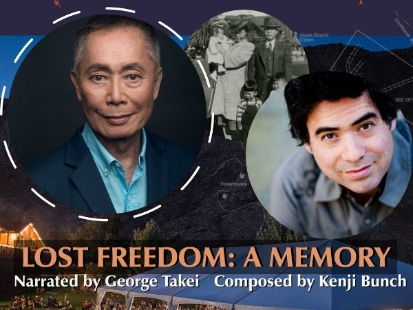 lost Freedom with Kenji Bunch and George Takei