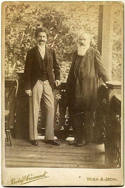 Strauss and Brahms