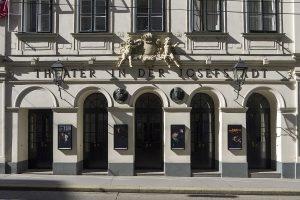 Theater in der Josefstadt: exterior