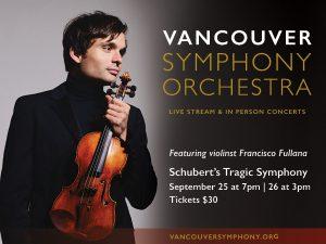 Vancouver Symphony Tragic Symphony by Schubert