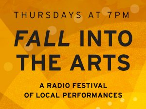 Fall into the Arts 2021 spotlight banner
